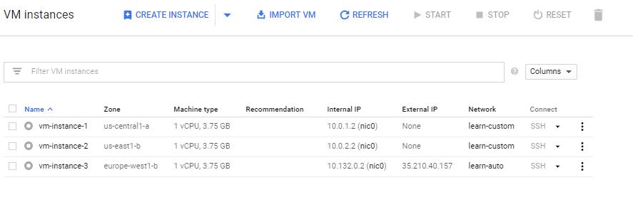 vm reserve external ip
