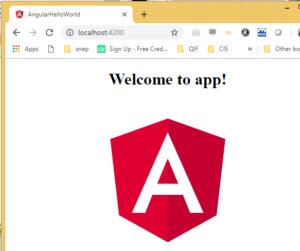 angular js project setup hello world
