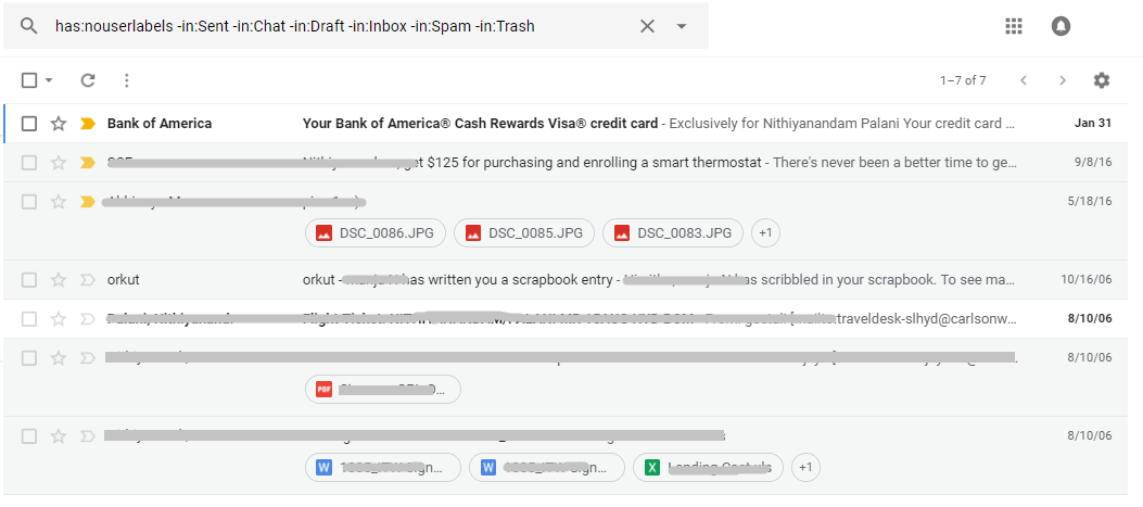 retrieve archived gmail