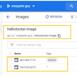 build docker image dockerfile cloud build