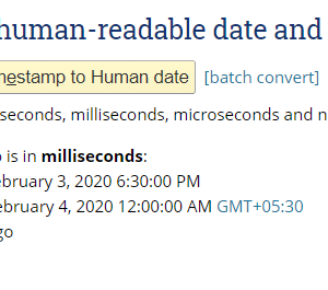 add hours to timestamp unix 2