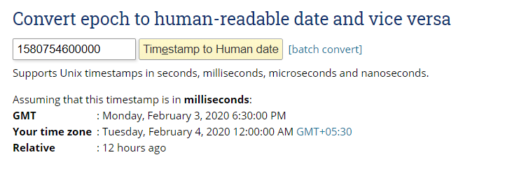 add hours to timestamp unix 2