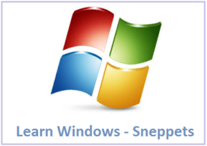 learn windows