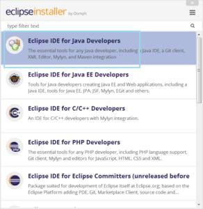 eclipse install windows 10 jdk11