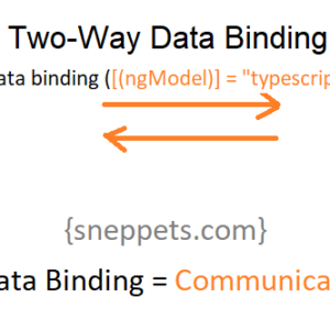 two way data binding angular 9