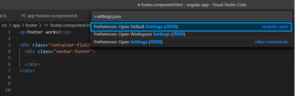 Emmet in Visual Studio Code not working