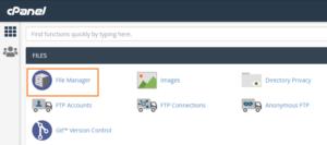 Manually Backup WordPress Site using cPanel – Bluehost