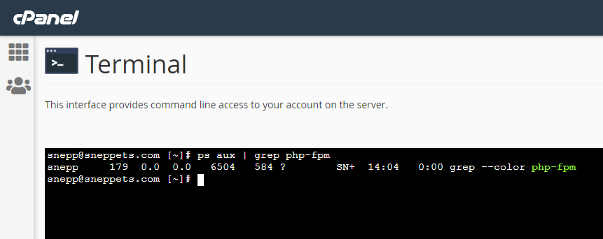 PHP FPM - Check if Installed and Running