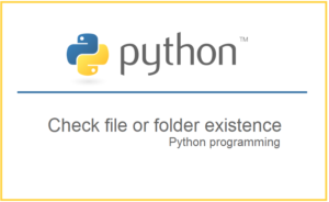 Check if a file or folder exists without getting exceptions