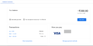 Make manual payment or pay early for your Google Cloud Platform