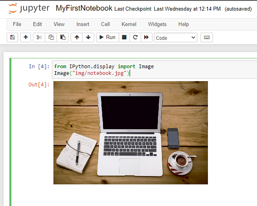 insert add embed image in jupyter notebook local file