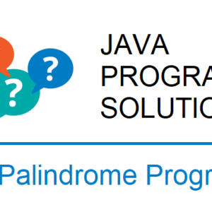 java palindrome program string number