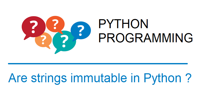 string immutable python examples