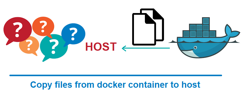 Docker: Copy files from Docker container to local host
