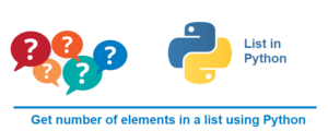 Get number of elements in a list – Python