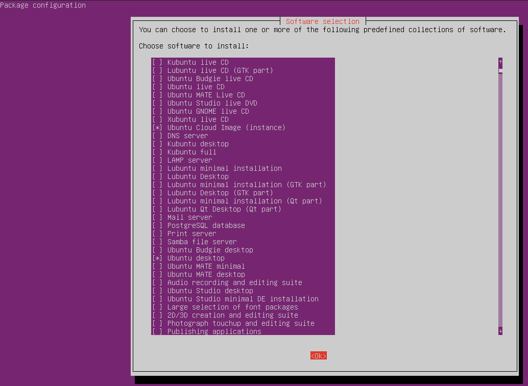Install GUI or graphical desktop environment on Ubuntu Server